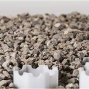 graviers pierre naturelle gris silico calcaire 6 10mm 25 kg leroy merlin. Black Bedroom Furniture Sets. Home Design Ideas