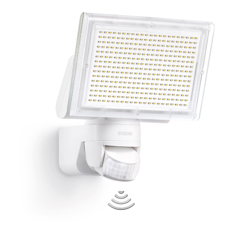 projecteur fixer d tection ext rieur led int gr e 20w 1426lm blanc steinel leroy merlin. Black Bedroom Furniture Sets. Home Design Ideas