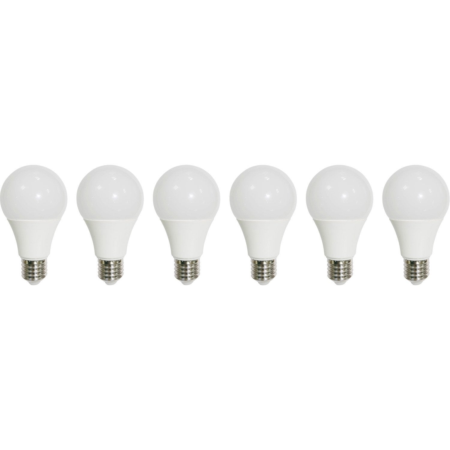 Lot 150° Standards Ampoules 60w3000k 9w806lméquiv Led Lexman 6 E27 De zUVGqSMp