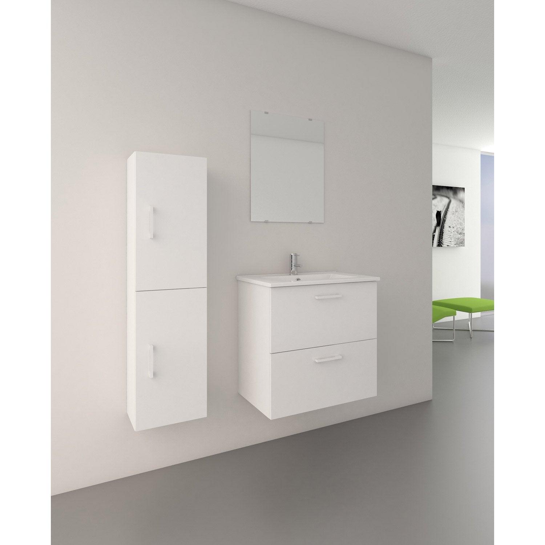 meuble sous vasque et miroir x x cm stella leroy merlin. Black Bedroom Furniture Sets. Home Design Ideas