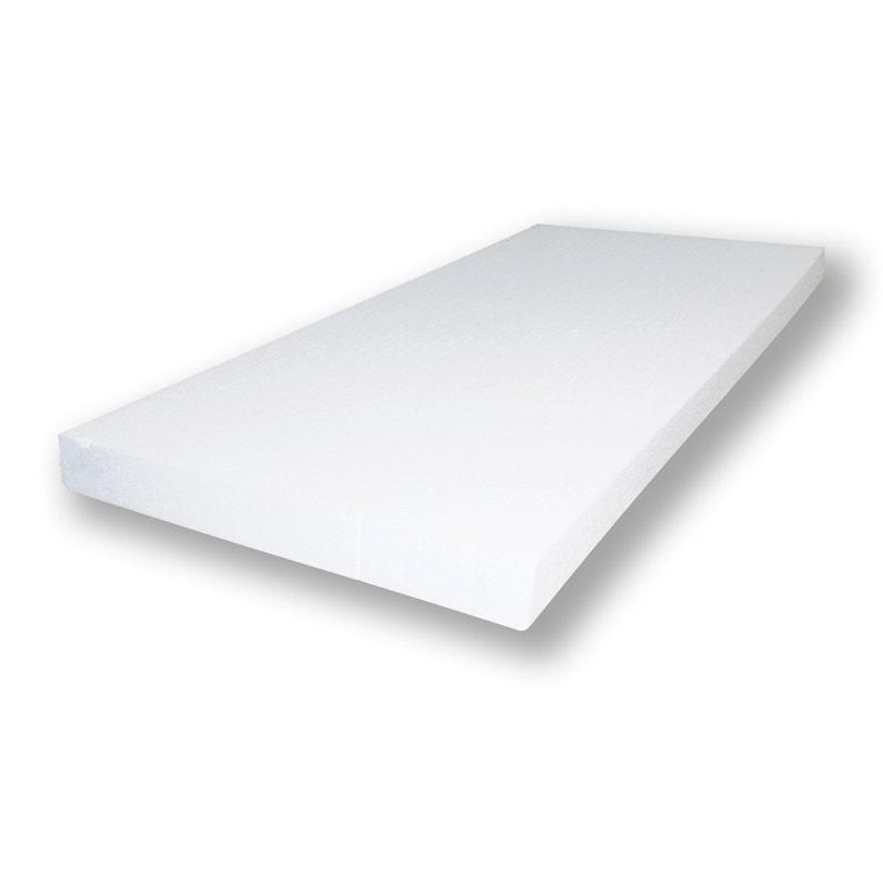 Panneau En Polystyrène Isolant Pour Ite 1 20x0 60 ép 160mm Blanc Prb