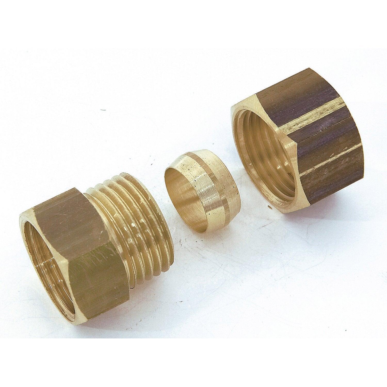 Raccord tuyau cuivre sans soudure