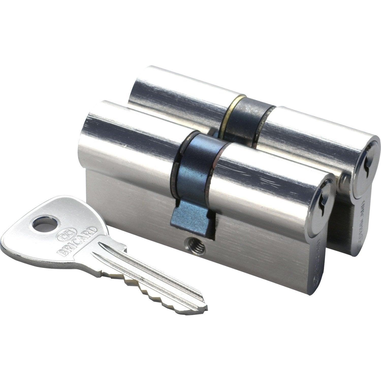 2 Cylindre serrure meme clé