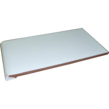 Appui de fenêtre blanc, L.0.28 x l.0.14 m