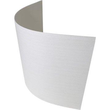 Plaque de plâtre Techniform CE 2.5 x 0.9 m, Ep. 6.5 mm