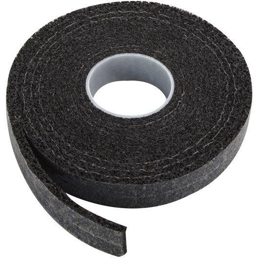 Joint de porte et fen tre universel plasto de 1 4 mm x 6 m noir leroy merlin - Joint de frigo universel ...