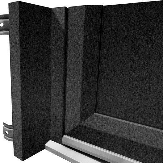 tap e d 39 isolation pour porte d 39 entr e x cm aluminium artens leroy merlin. Black Bedroom Furniture Sets. Home Design Ideas
