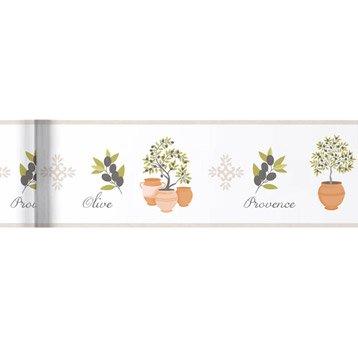 Frise murale et bordure adh sive et papier leroy merlin for Frise murale cuisine