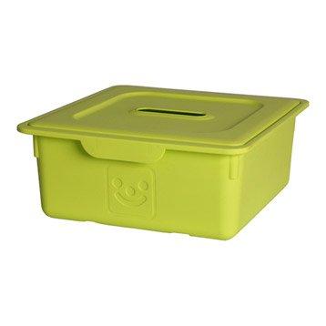 Panier malle boite et rangement sous vide leroy merlin - Bac rangement plastique sous lit ...