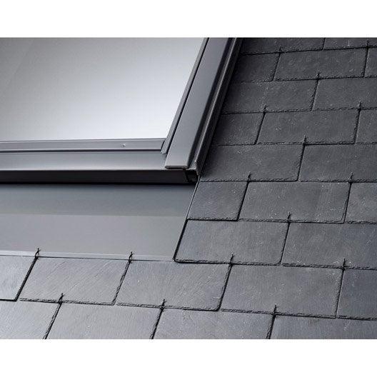 raccord pour fen tre de toit velux edn mk04 gris leroy merlin. Black Bedroom Furniture Sets. Home Design Ideas