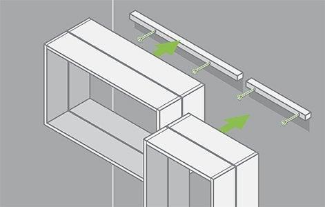 diy cr er des tag res en bois pour les plantes leroy merlin. Black Bedroom Furniture Sets. Home Design Ideas
