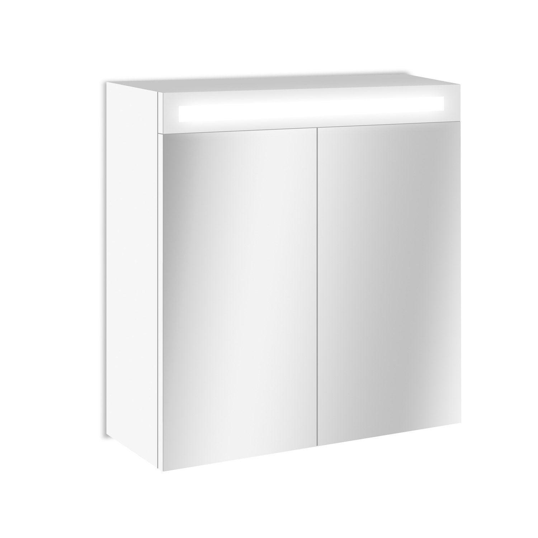 armoire de toilette lumineuse femandm. Black Bedroom Furniture Sets. Home Design Ideas