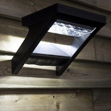 Applique solaire Malibu 300 Lm noir INSPIRE