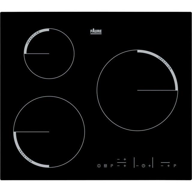 Plaque à Induction 3 Foyers Noir Faure Fel6633fba