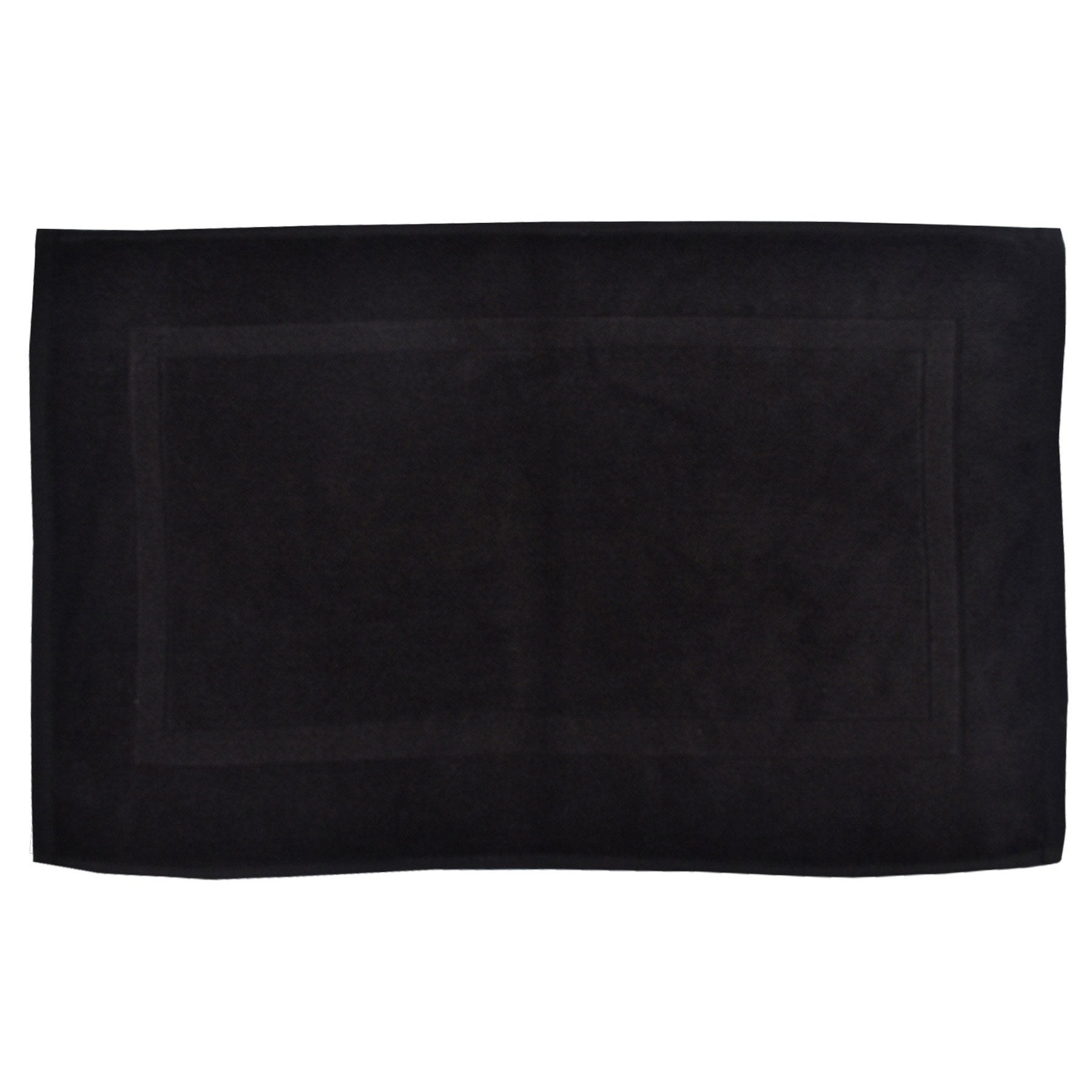 Tapis de bain l.50 x L.80 cm black n°0, Terry SENSEA