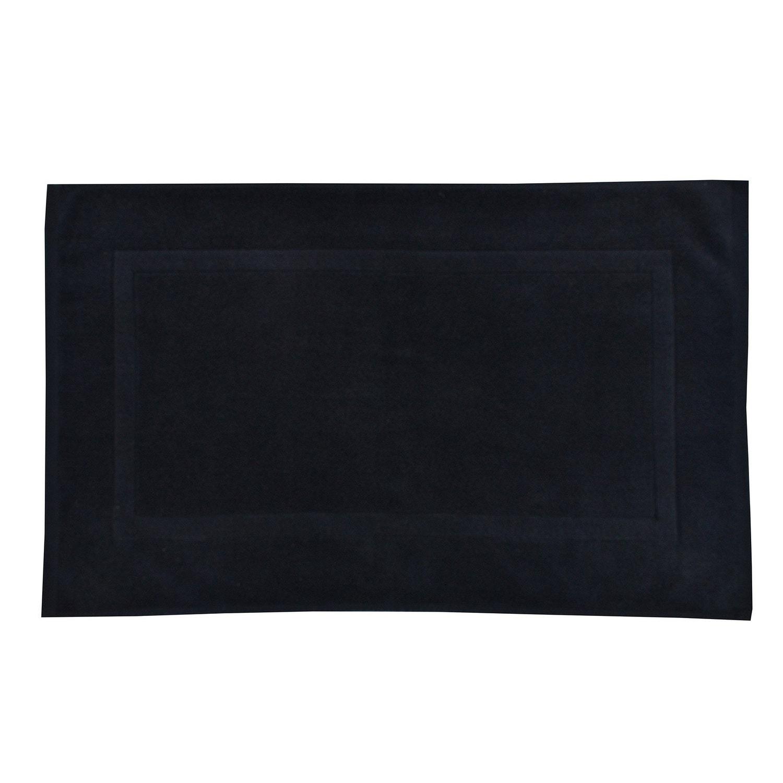 Tapis Salle De Bain H&M ~ tapis de bain l 50 x l 80 cm paris n 1 terry sensea leroy merlin