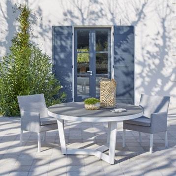 Table De Jardin Romantique Ronde Blanc au meilleur prix ...