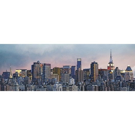 poster xxl de mur new york x cm leroy merlin. Black Bedroom Furniture Sets. Home Design Ideas