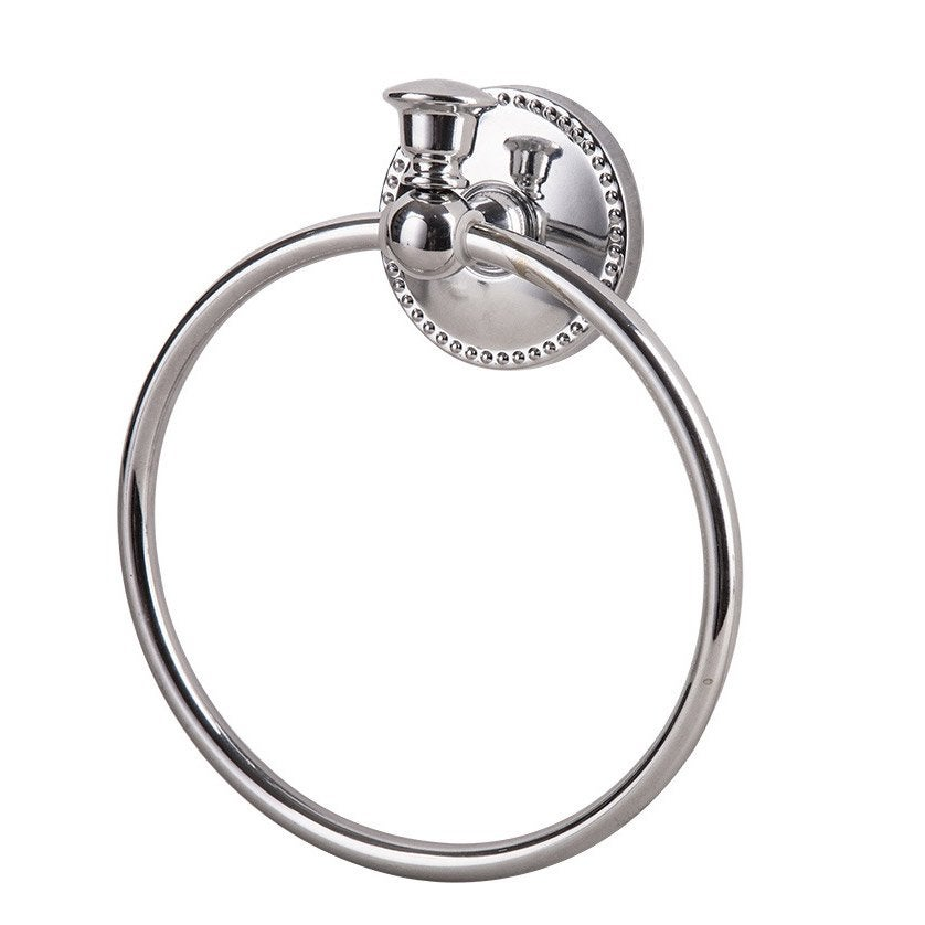 Porte-serviettes acier anneau emmy