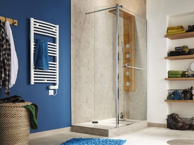 Comment Poser Une Paroi Dans Une Douche A L Italienne