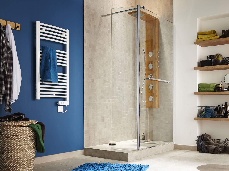 Comment poser une paroi dans une douche à l'italienne ?