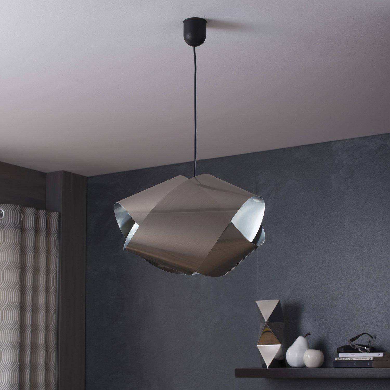 Une suspension aluminium original pour une salle manger personnalis e leroy merlin - Suspension pour salle a manger ...