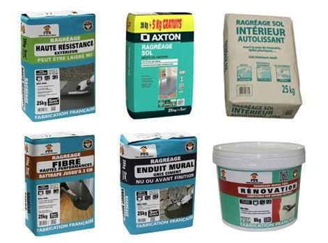 Pr paration des surfaces et sous couches techniques for Ragreage mural exterieur