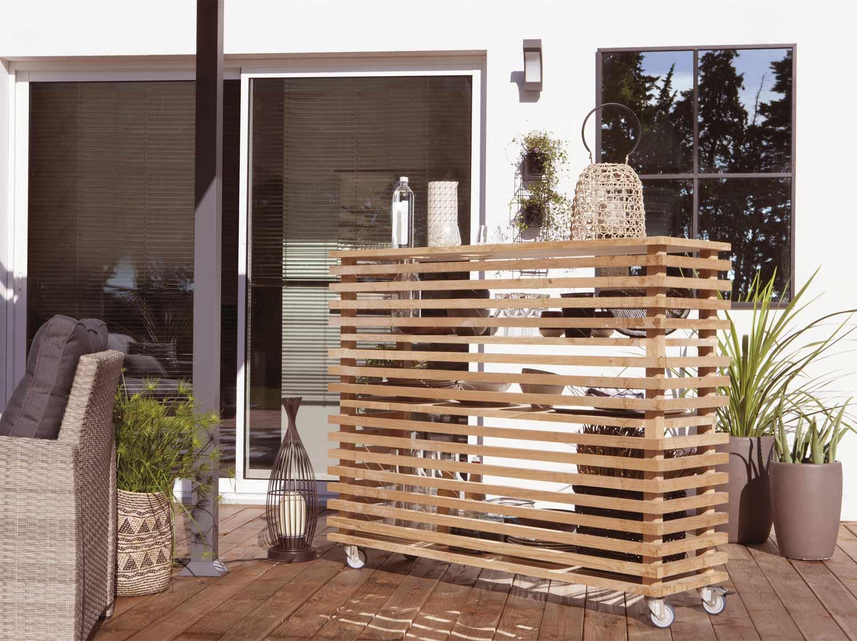 Réaliser un bar lounge mobile d'extérieur