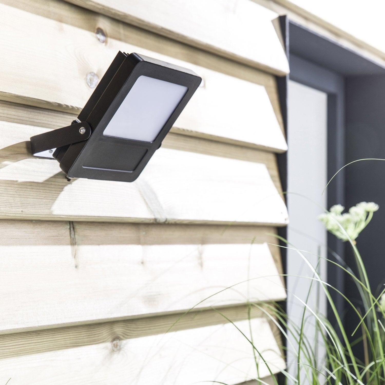 projecteur fixer ext rieur broome led int gr e 20 w 1400 lm noir inspire leroy merlin. Black Bedroom Furniture Sets. Home Design Ideas