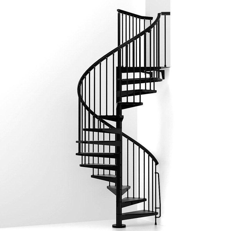 escalier colima on rond steel structure acier marche acier leroy merlin. Black Bedroom Furniture Sets. Home Design Ideas