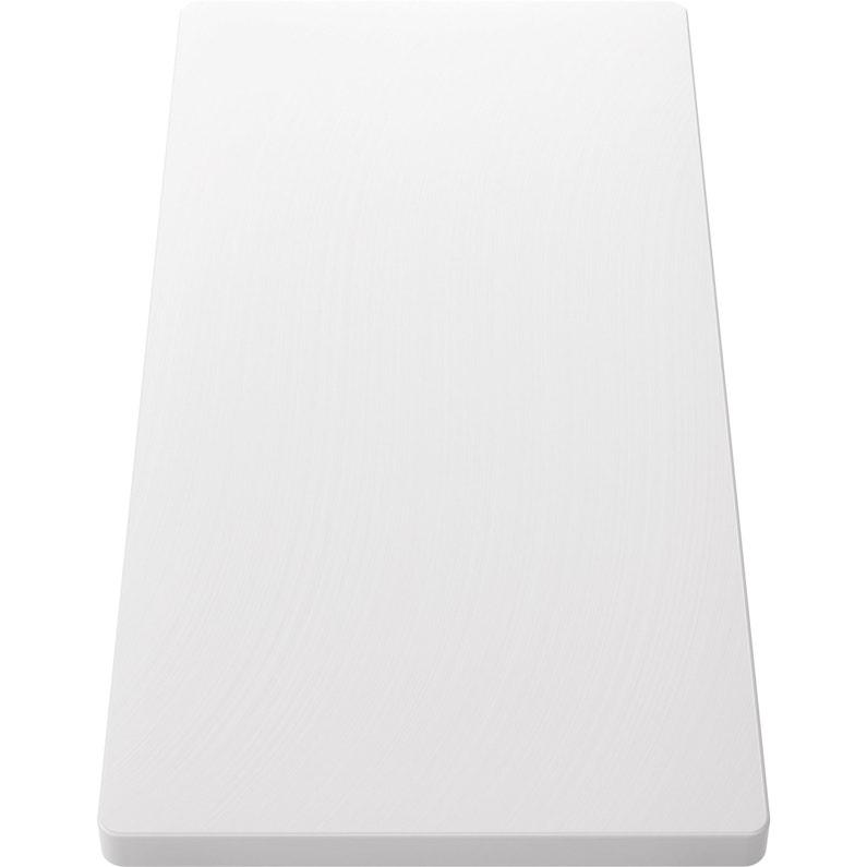 Planche à Découper En Plastique Blanc L 53 X H 26 Cm