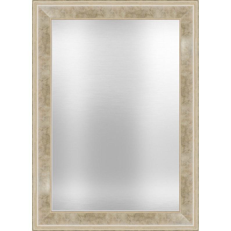 Miroir Rectangulaire Alice Dorée L766 X H1066 Cm