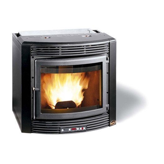 insert granul s autonome extraflame comfort maxi 10kw leroy merlin. Black Bedroom Furniture Sets. Home Design Ideas