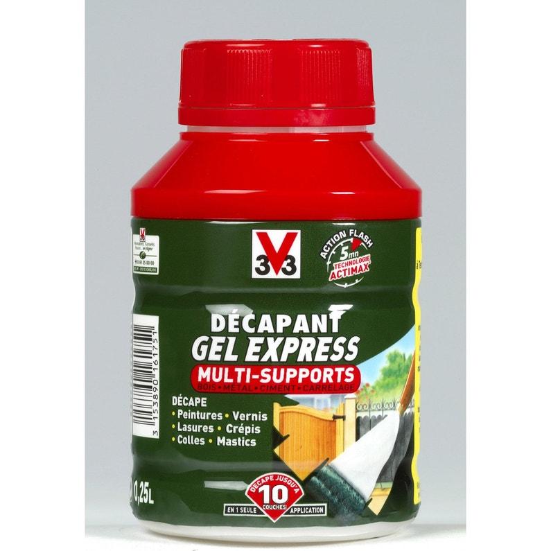 Décapant Multisupport V33 Gel Express 025 L
