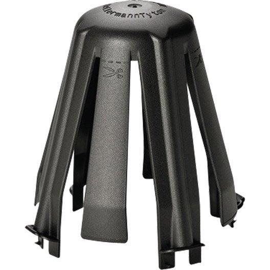 Lot de 3 cloches de protection pour spot encastrer spotclip ii fixe noir - Cloche spot encastrable ...