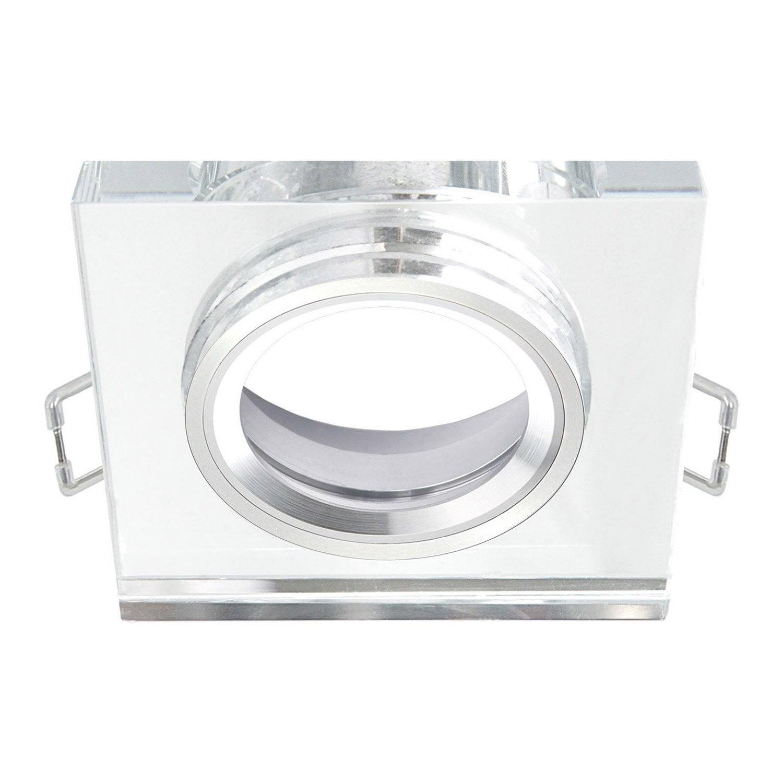 anneau pour spot encastrer rende fixe sans ampoule inspire transparent leroy merlin. Black Bedroom Furniture Sets. Home Design Ideas
