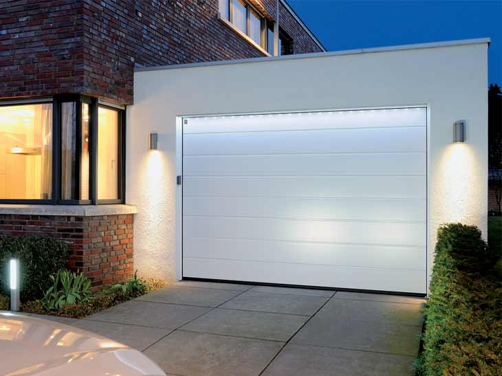 Portes de garage sur mesure sous haute surveillance for Porte garage hormann