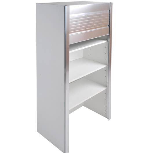 meuble haut petit d jeuner volet roulant x x p. Black Bedroom Furniture Sets. Home Design Ideas