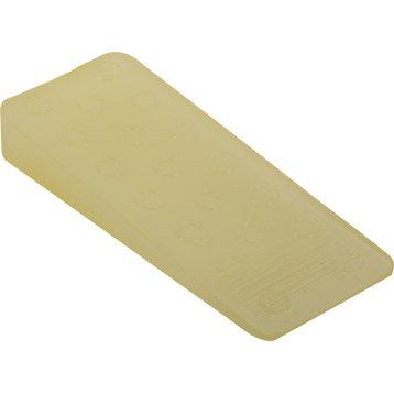 Bloque-porte plastique poli H.3.6 x L.10 cm