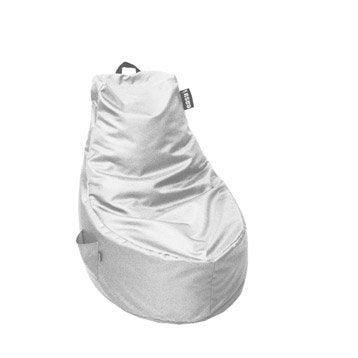 Coussin de sol blanc Lounge JARDIN PRIVE