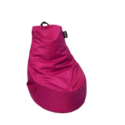 pouf de sol fuchsia lounge 65 x 88 leroy merlin. Black Bedroom Furniture Sets. Home Design Ideas