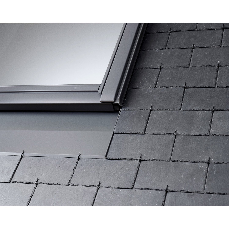 raccord pour fen tre de toit velux edn ck02 gris leroy merlin. Black Bedroom Furniture Sets. Home Design Ideas