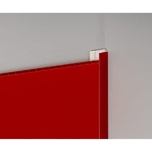 profil de d part et finition pvc rouge leroy merlin. Black Bedroom Furniture Sets. Home Design Ideas