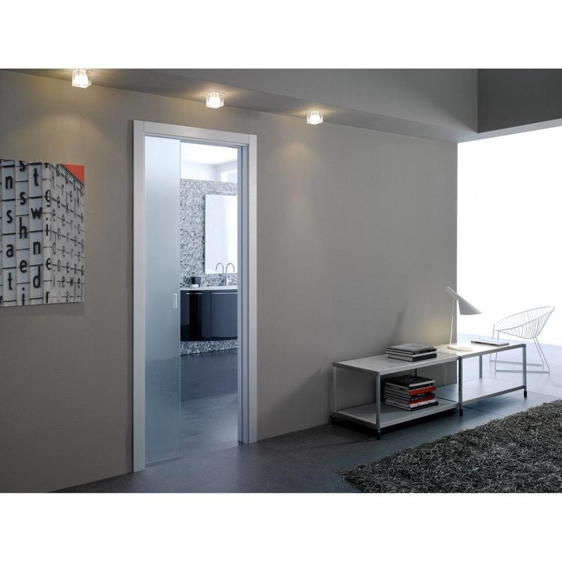 kit habillage pour porte coulissante galandage verre eclisse leroy merlin. Black Bedroom Furniture Sets. Home Design Ideas