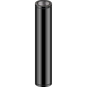 Tuyau pour conduit double paroi POUJOULAT, D150 mm 1.15 m Ep.30 mm