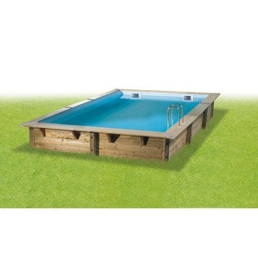 piscine hors sol bois samoa 2 diam 4 3 l 4 3 x l 3 0 x h m leroy merlin. Black Bedroom Furniture Sets. Home Design Ideas