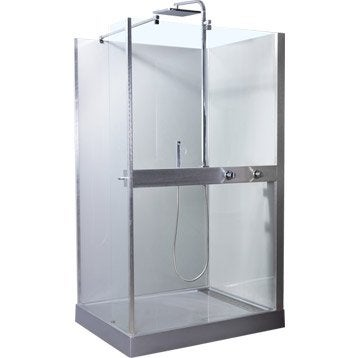 Cabine de douche rectangulaire 120x90 cm, Mood