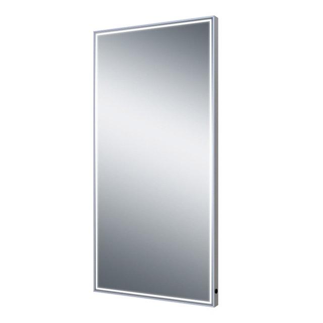 Une salle de bains pratique et confortable leroy merlin - Miroir salle de bain avec eclairage integre ...