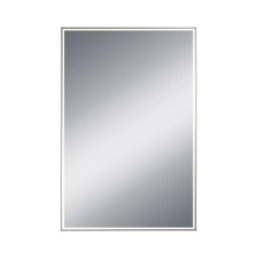 Miroir avec éclairage intégré, l.60 x H.90 cm Neo | Leroy Merlin