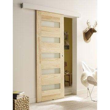 Ensemble porte coulissante porte galandage porte galandage am nagement i - Porte vitree salle de bain ...